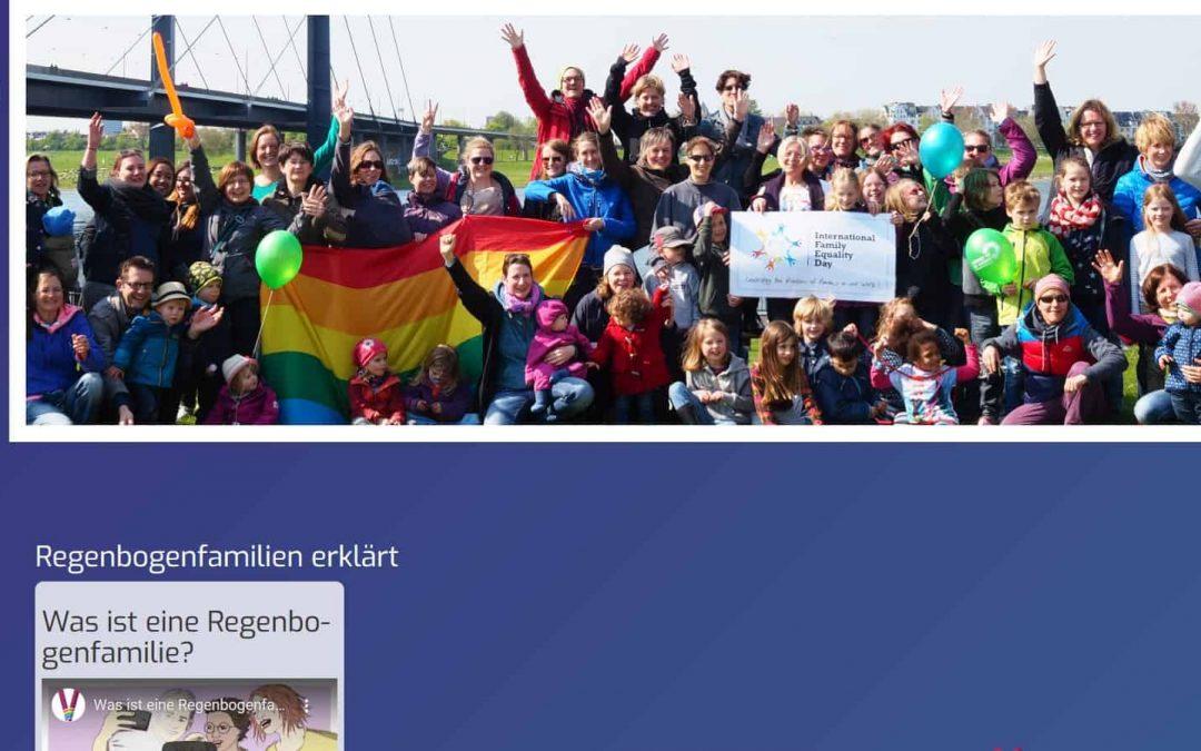 Erstes Regenbogenfamilienportal Deutschlands ist online
