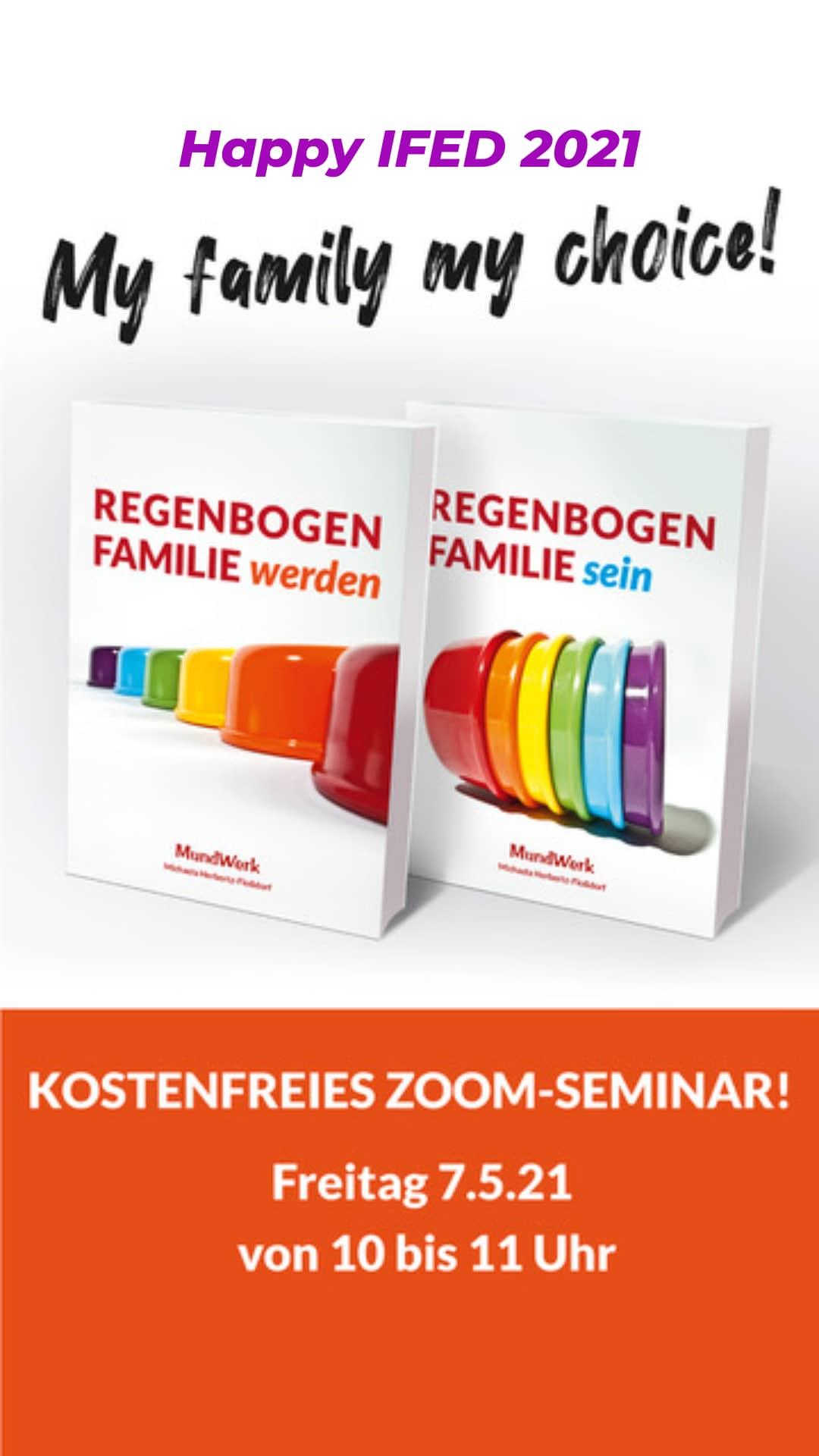 Regenbogenfamilie sein 7.5.2021