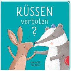 Küssen verboten?  Kunterbuntes Bilderbuch über die Vielfalt der Liebe
